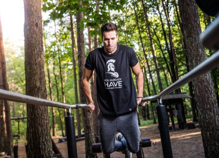 Openbare fitness toestellen